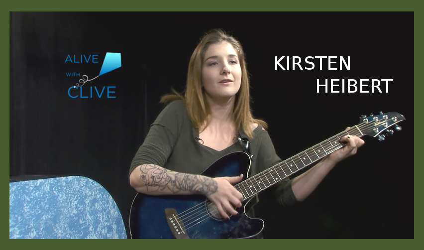 Kirsten Heibert, 1st of 2 Shows on Alive with Clive