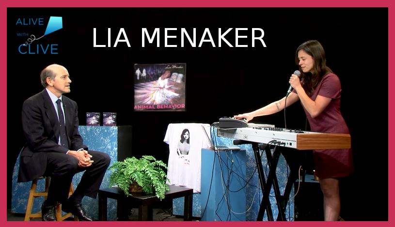 Lia Menaker, 1st Show on Alive with Clive