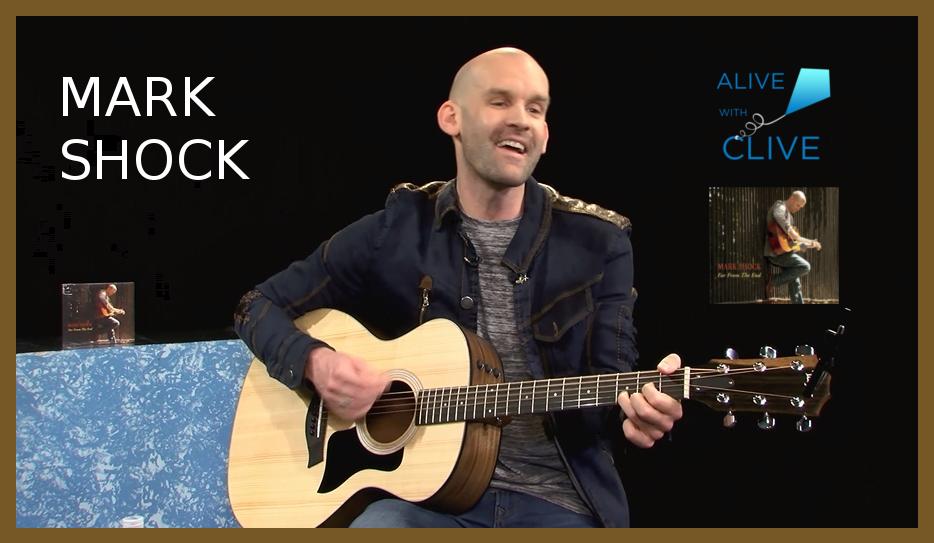 Singer-songwriter, Mark Shock