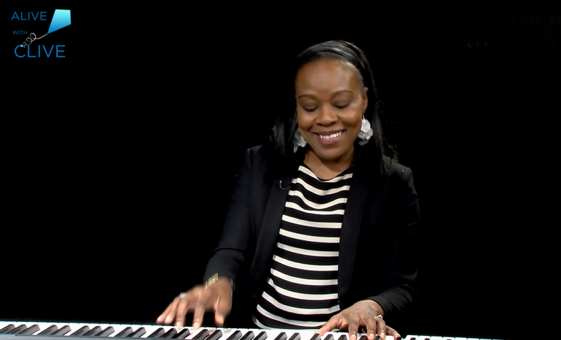 Markeisha Ensley on Alive with Clive, 4th of 4 Shows