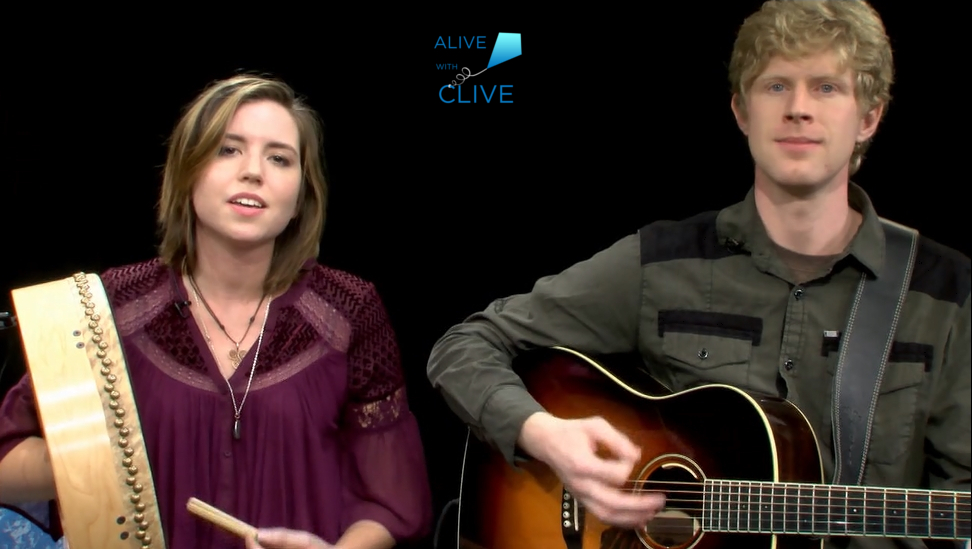 Melanie Bresnan on Alive with Clive