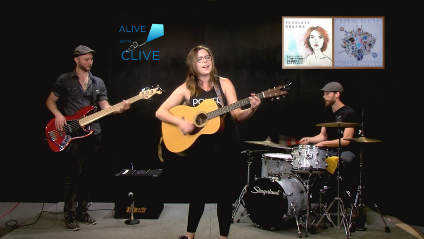 Melanie Bresnan on Alive with Clive, 2nd Show