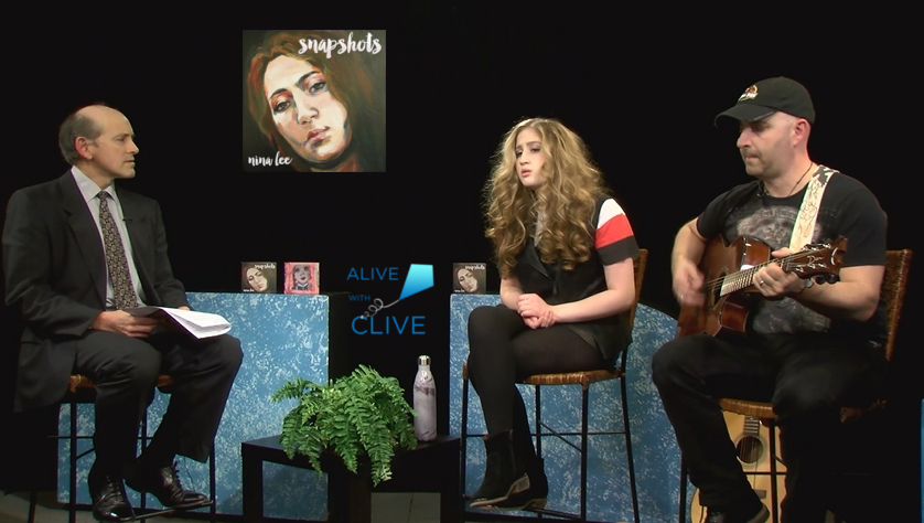 Nina Lee on Alive with Cilve, 2nd of 2 Shows