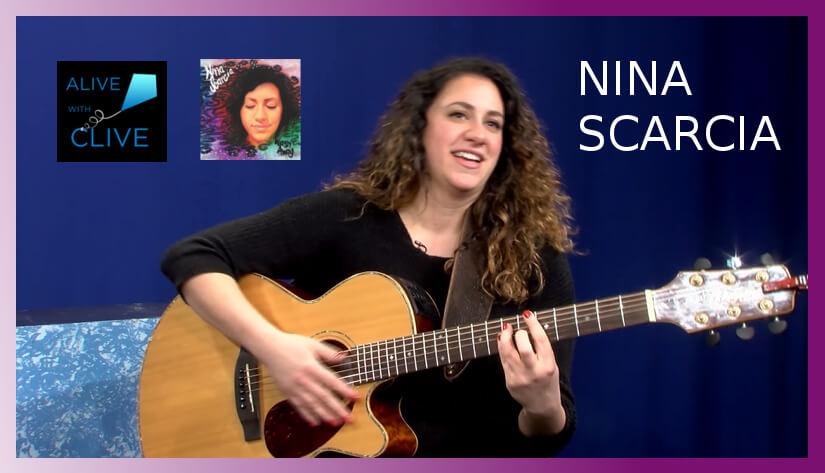Singer-songwriter, Nina Scarcia