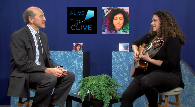 Nina Scarcia on Alive with Clive, 1st of 2 Shows