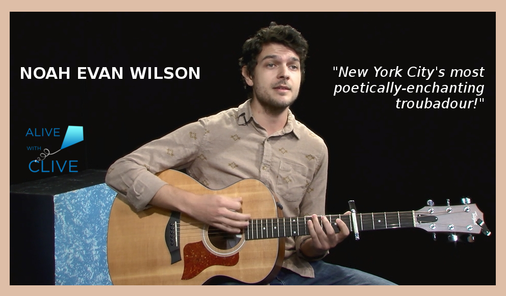 Noah Evan Wilson, on Alive with Clive