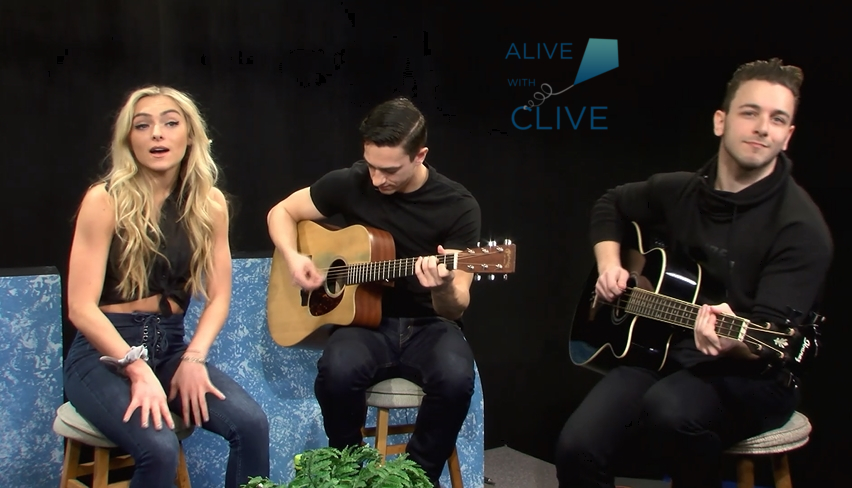 Paige Howell on Alive with Clive, 1st of 2 Shows