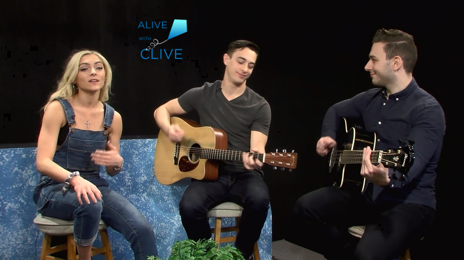 Paige Howell on Alive with Clive, 2nd of 2 Shows