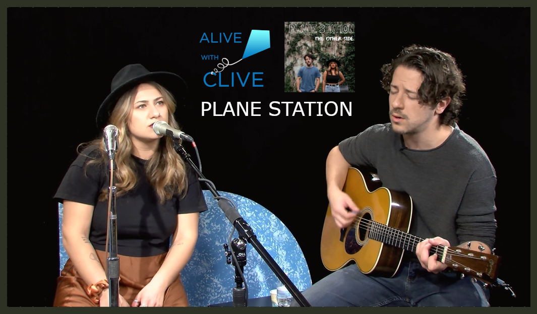Planes Station Music singing heartfelt songs about love on Alive with Clive