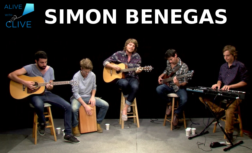 Simon Benegas on Alive with Clive, 2nd of 2 Shows