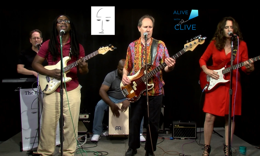 The Ruckert's on Alive with Clive, 1st of 2 Shows
