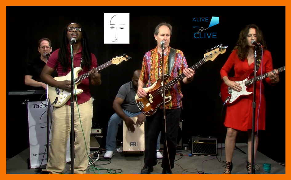 The Ruckerts, 1st Show on Alive with Clive