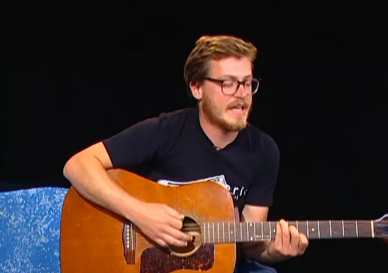 Singer-songwriter, Tim Haufe, on Alive with Clive -- 2nd of 2 Shows