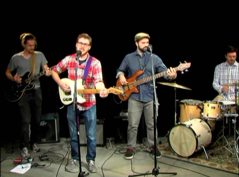 Tim Haufe Band on Alive with Clive, 1st of 2 Shows