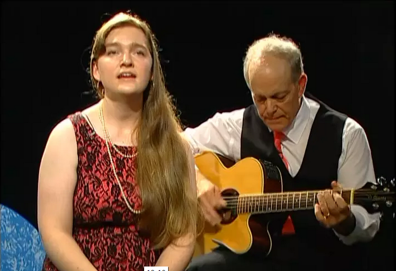 Wishing on Stars, Amanda Sprecher with Robert Scalici, on Alive with Clive, 4th of 4 Shows
