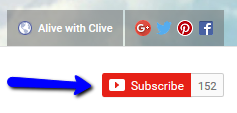 Subscribe to Alive with Clive on YouTube