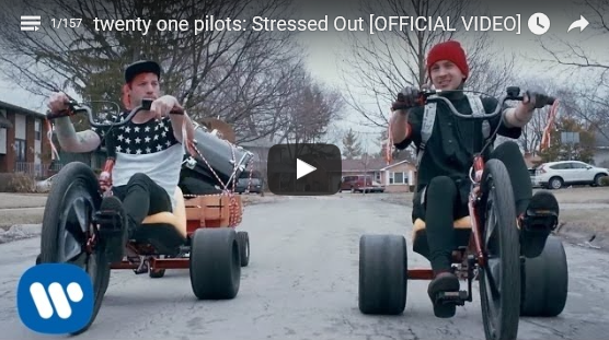 twenty one pilots - Stressed Out - Vid Pic